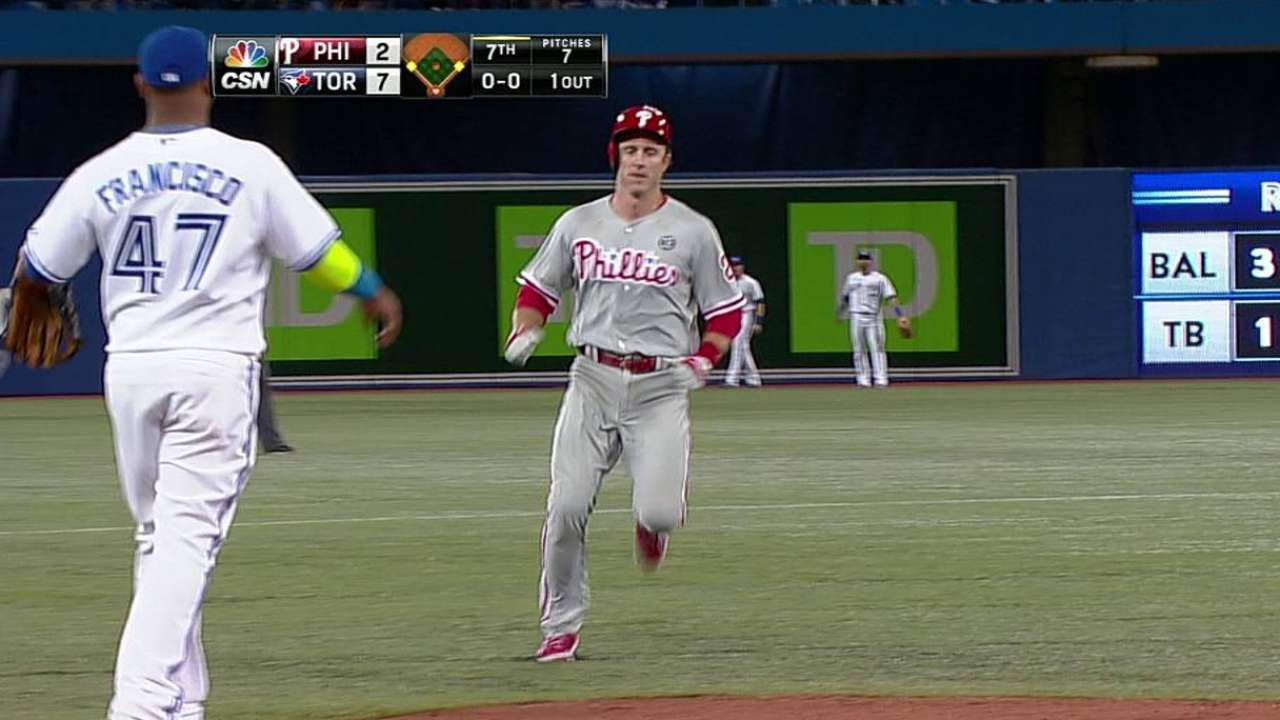 Burnett, Phils try to stay positive after Jays tee off
