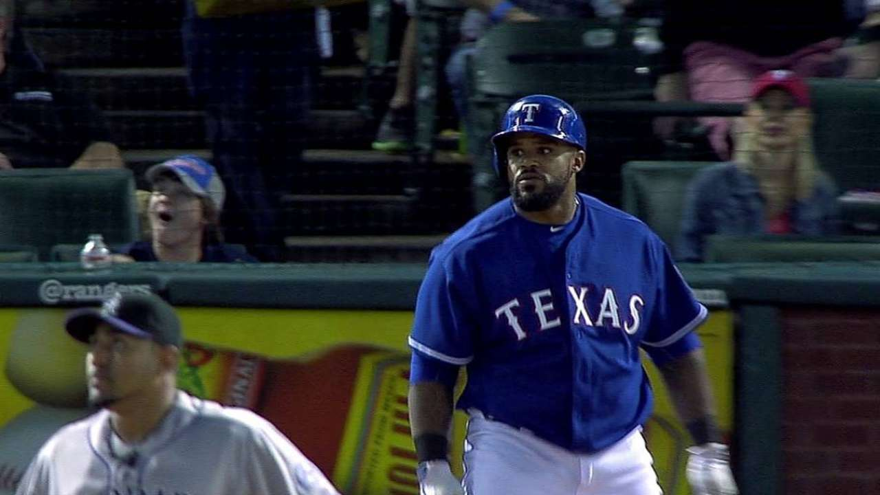 Fielder healthy, 'ready to go' for Rangers