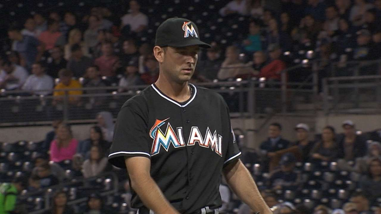 Marlins confident pitching staff will rebound on road