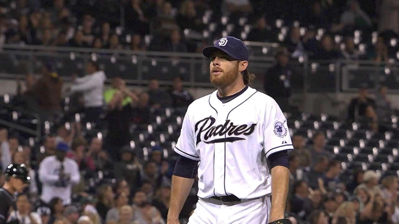 Padres stung in 11th after Kennedy shines early