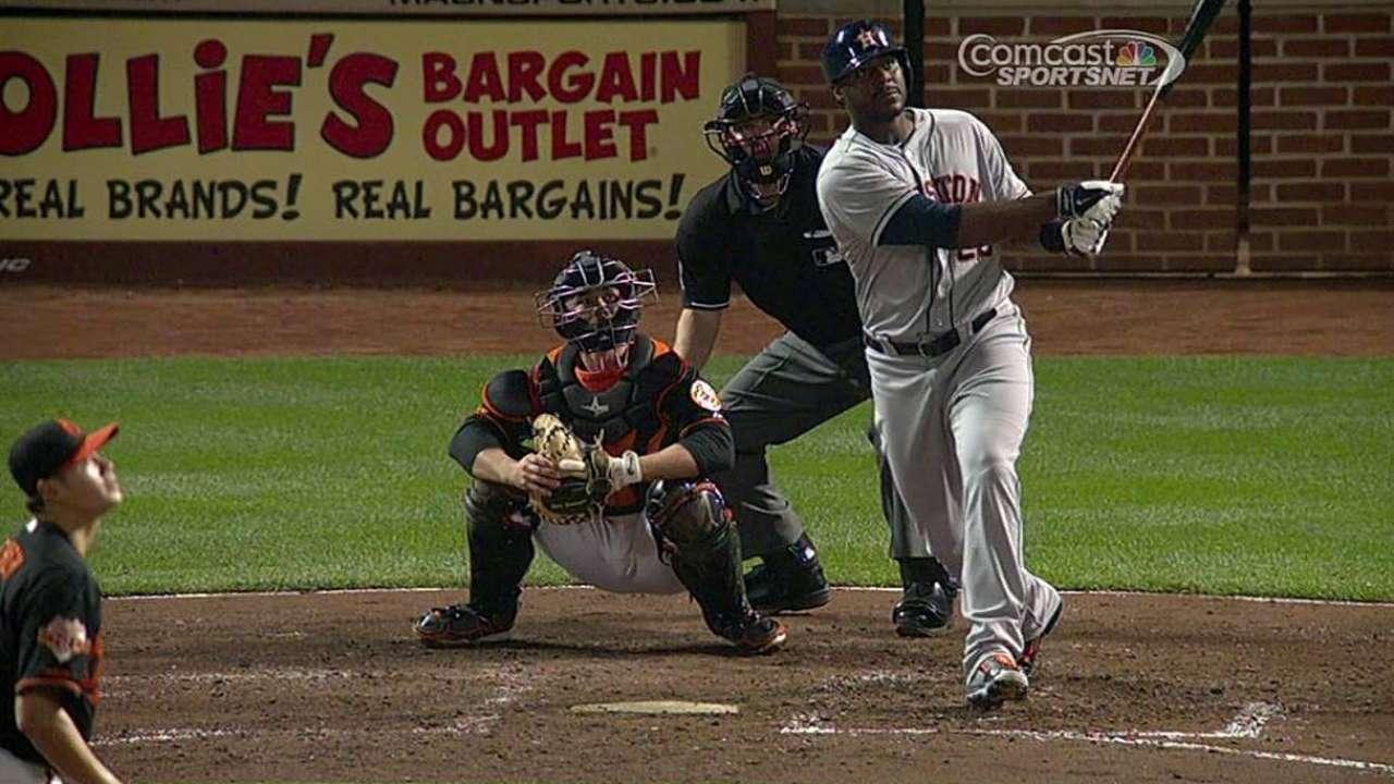 Bullpen falla y Astros fueron superados por Orioles