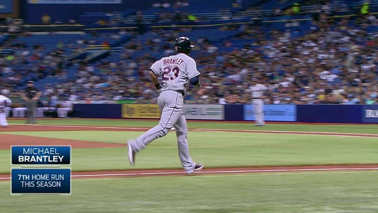 Brantley goes way back with Toronto manager Gibbons