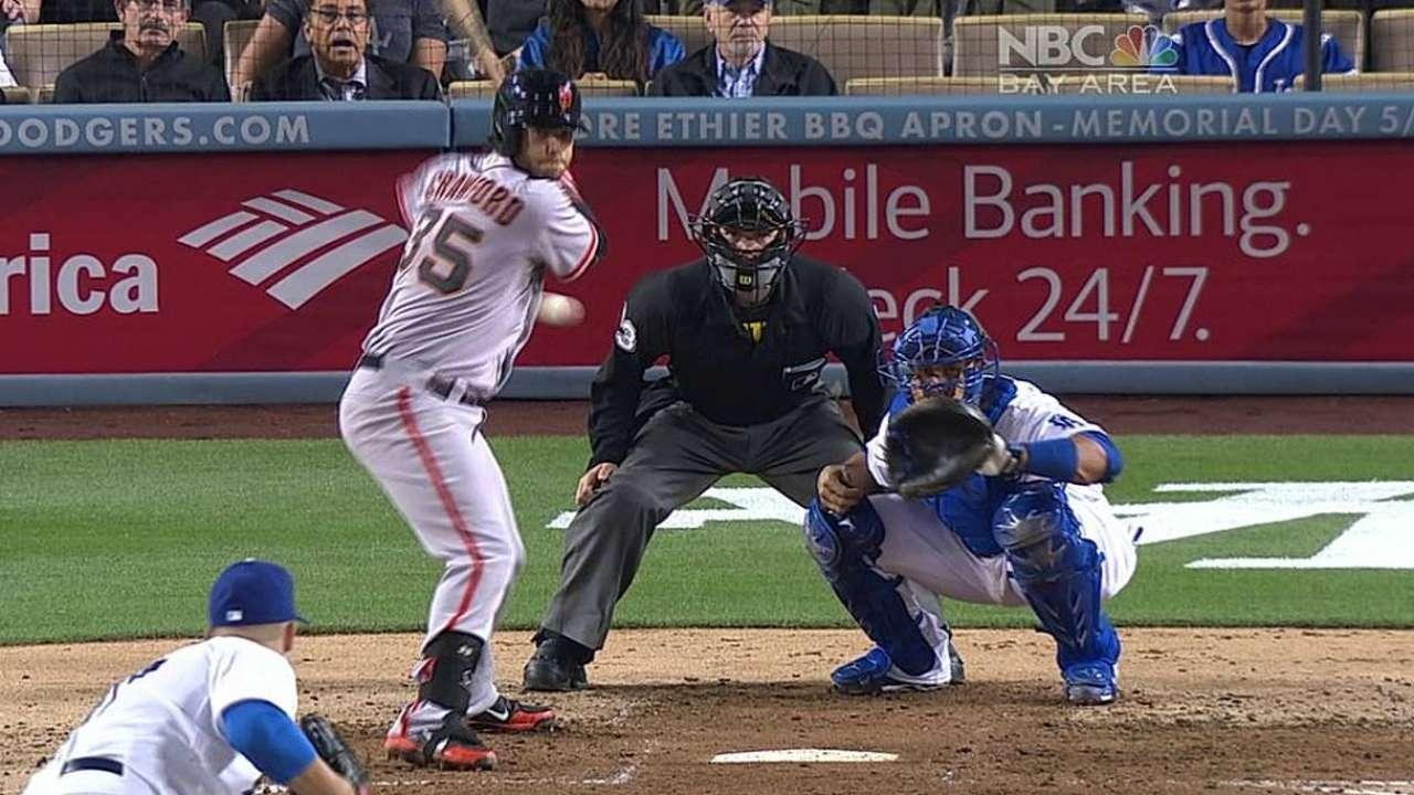 Bumgarner, Gigantes apagaron artillería de Dodgers