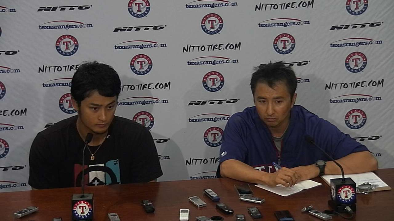Darvish merely masterful for Rangers