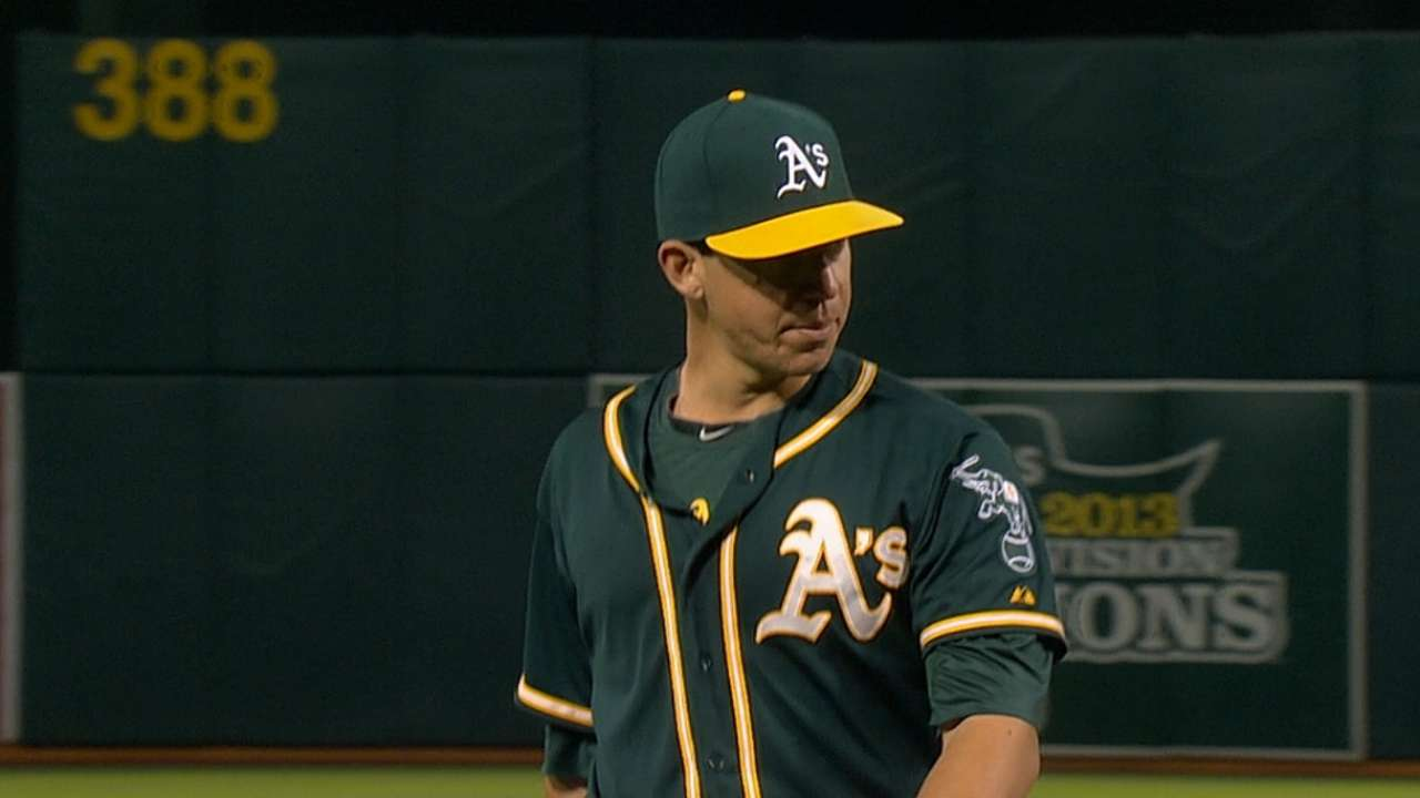 Milone cruises, A's bruise Fister in win over Nats