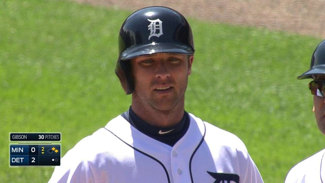 Ausmus thinks Romine may be pressing a bit