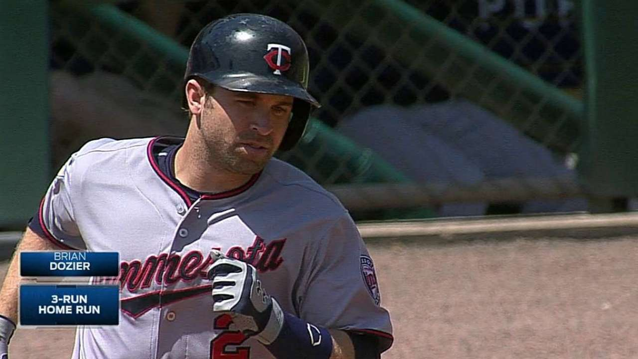 Atypical leadoff man Dozier pacing surprising offense