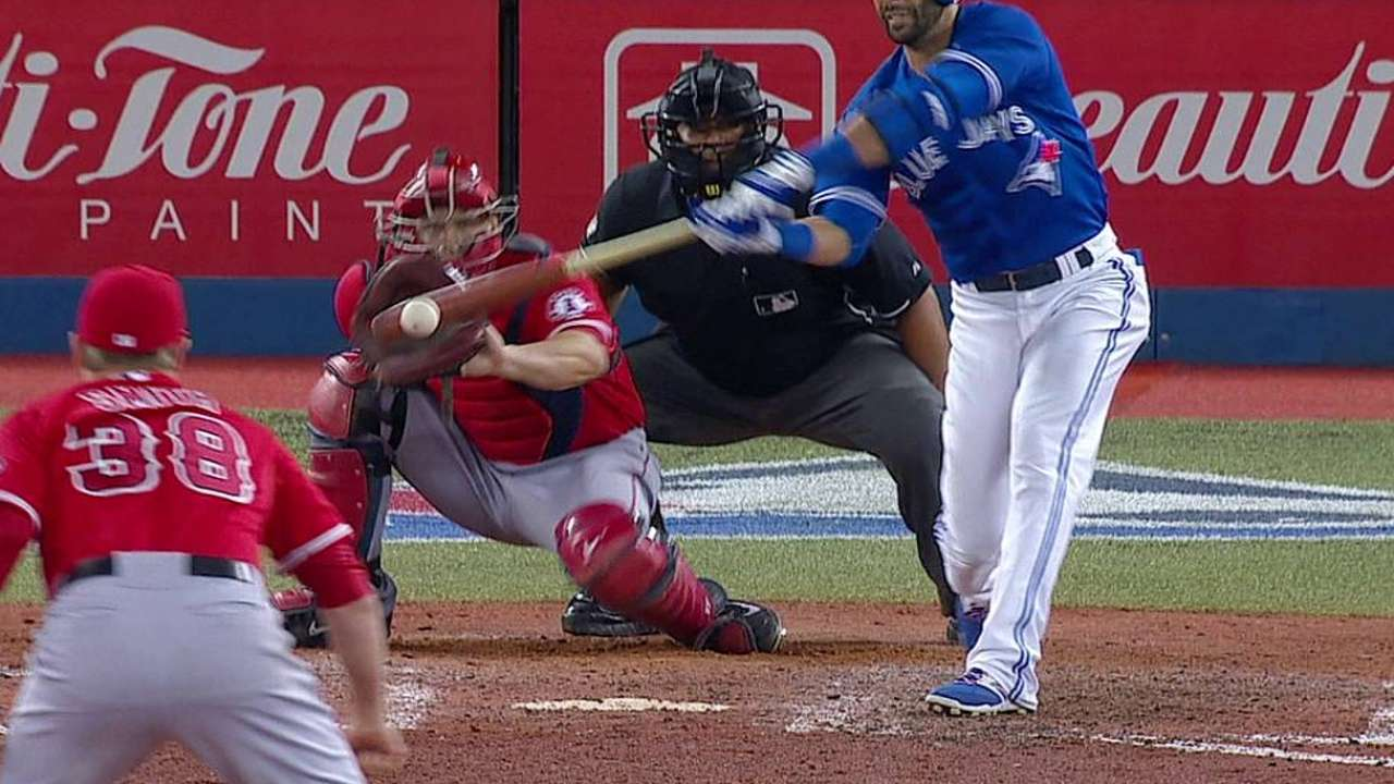 Blue Jays shut down by Angels' young lefty