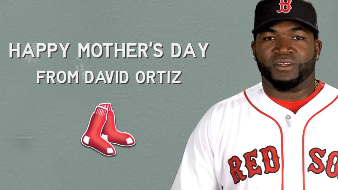 Red Sox don pink for Mother's Day