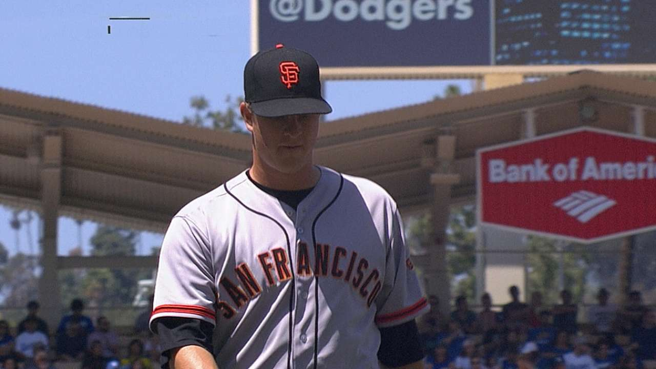 Unable to cash in, Giants can't hold off Dodgers