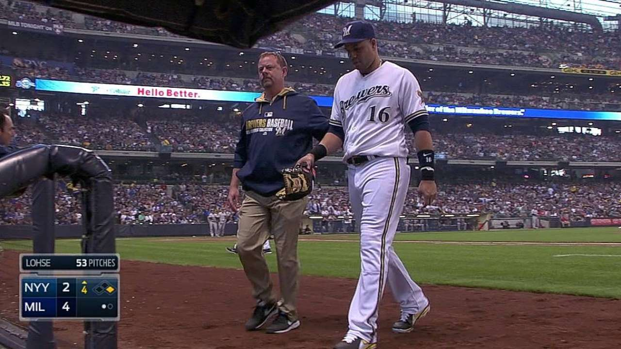 Braun back, but hamstring strain sends Aramis to DL