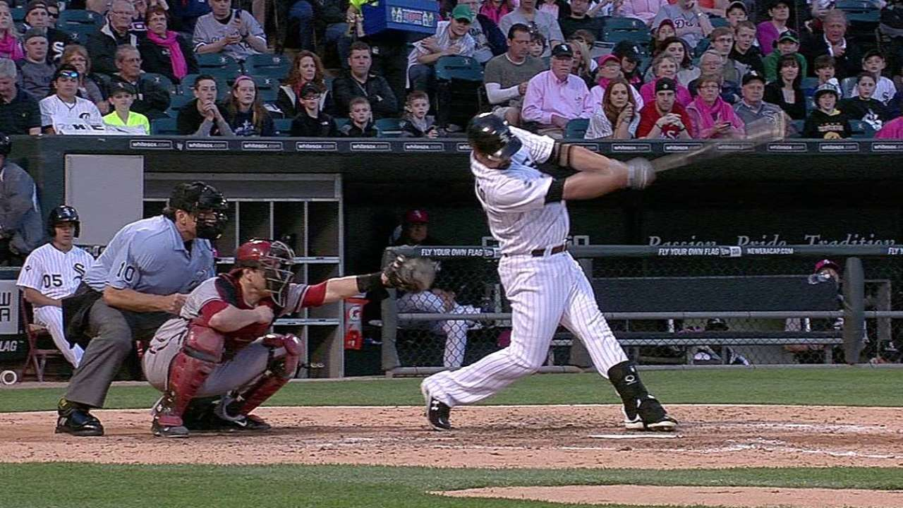 Konerko pega HR pero Chicago cae con Arizona