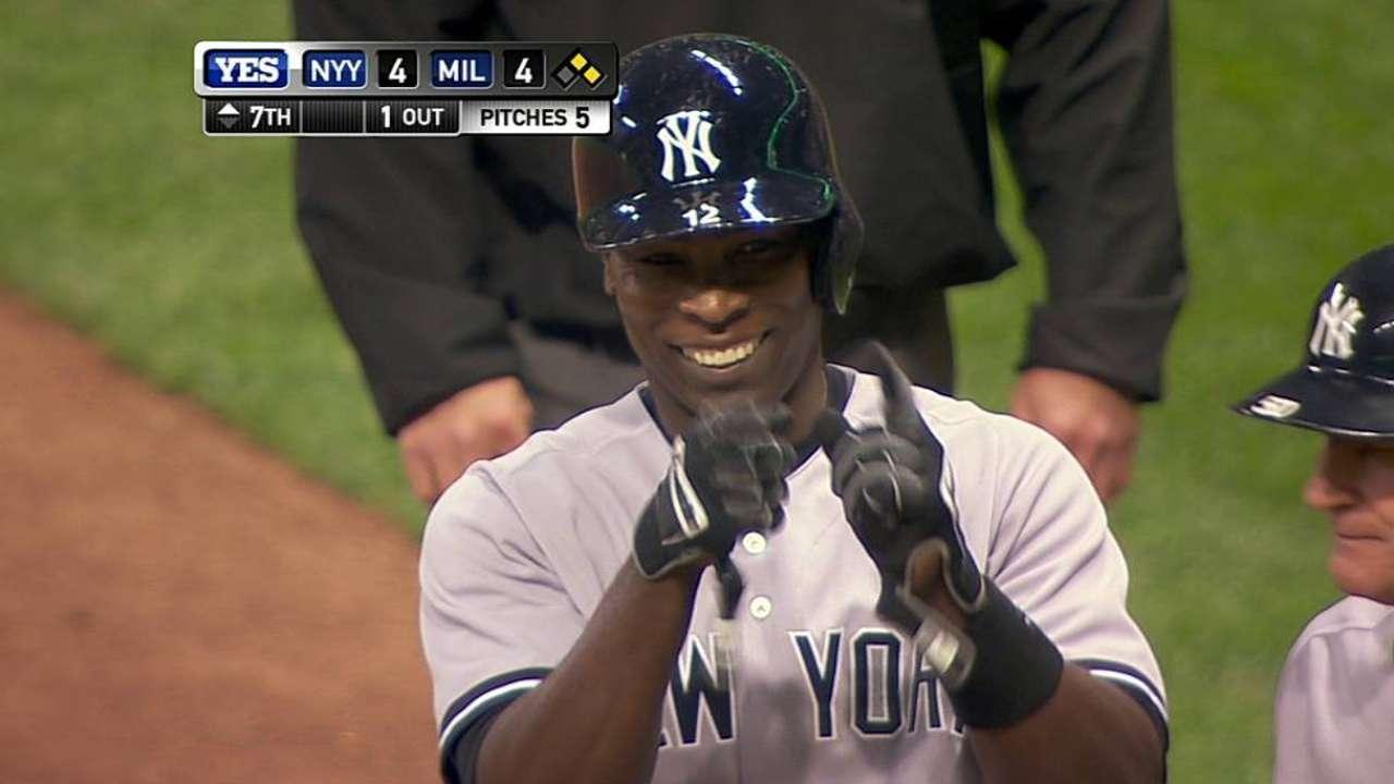 Yankees cayeron por la mínima ante los Cerveceros