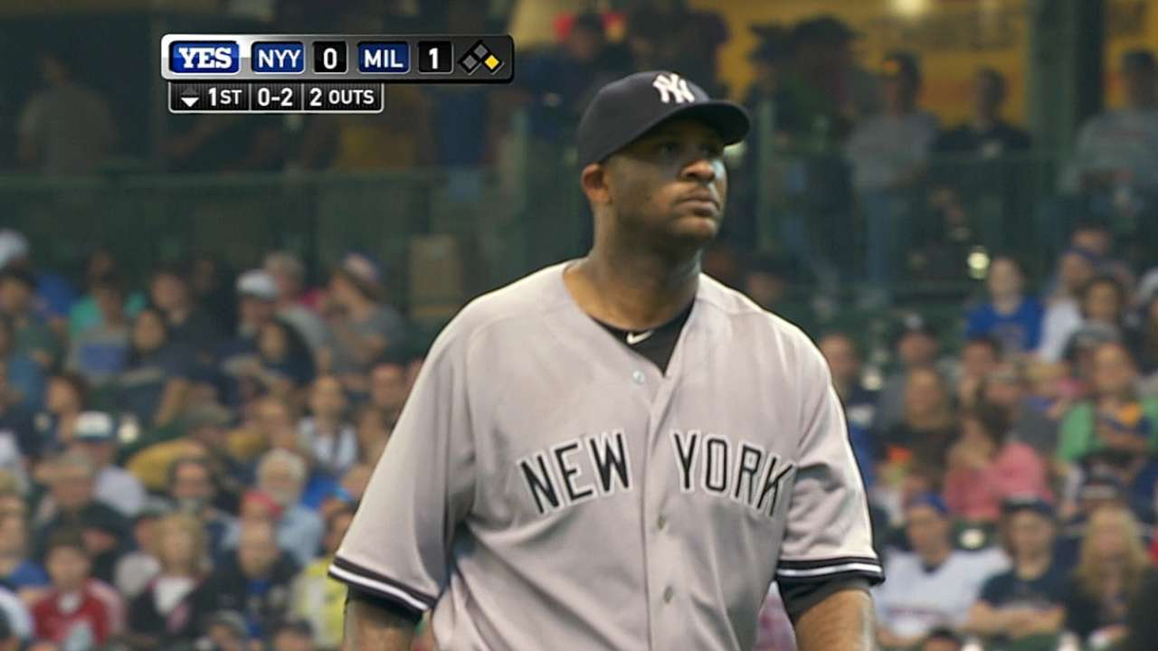 CC gets on mound, takes next step in rehab