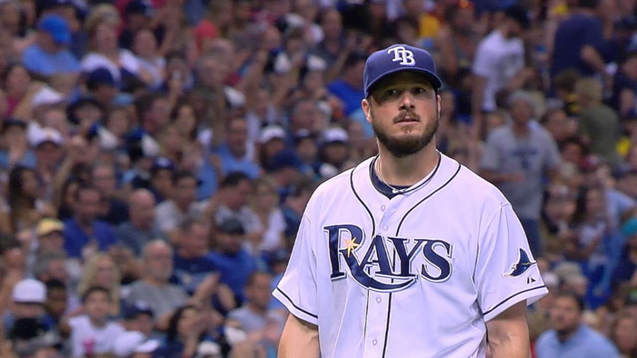 Bedard dominates as Rays overpower Indians