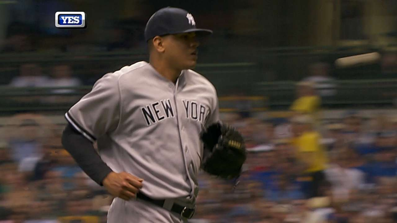 When Yanks need K, they turn to Betances