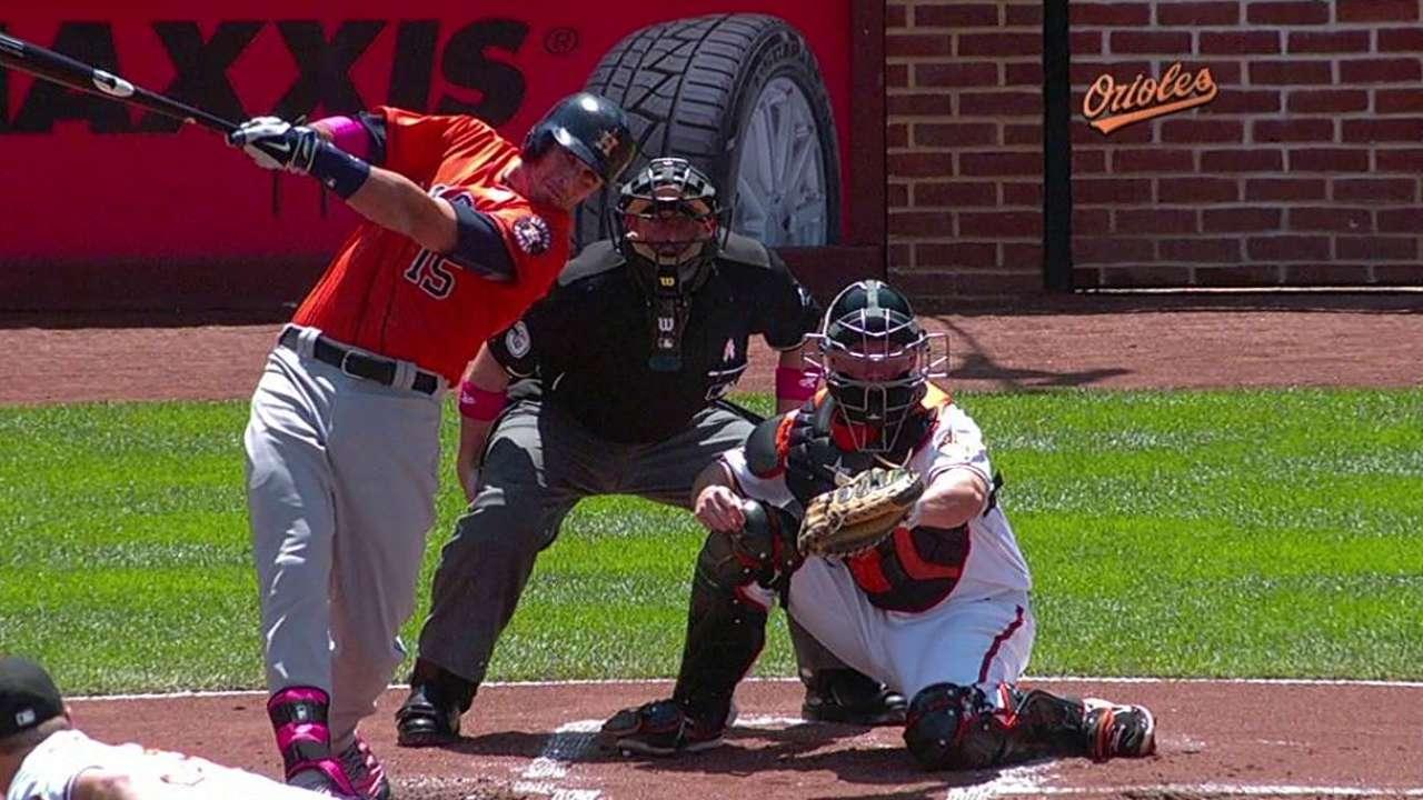 Astros se llevan el del honor ante Orioles con poder