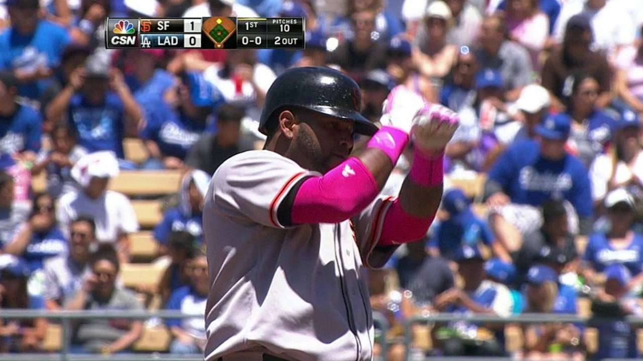Giants hoping Sandoval on offensive upswing