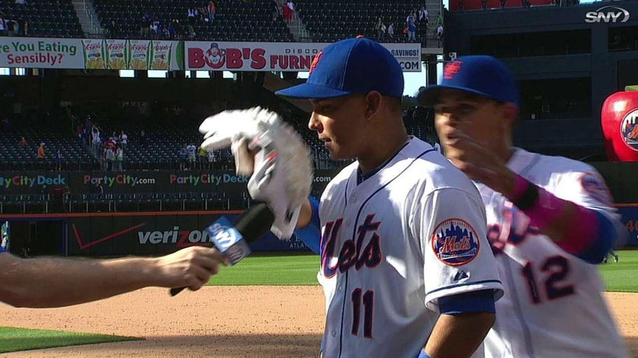 Mets se imponen a Filis con hit de Tejada en la 11ma