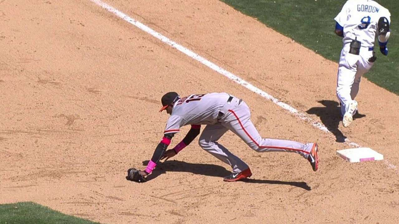 Bochy successful in challenge vs. Dodgers