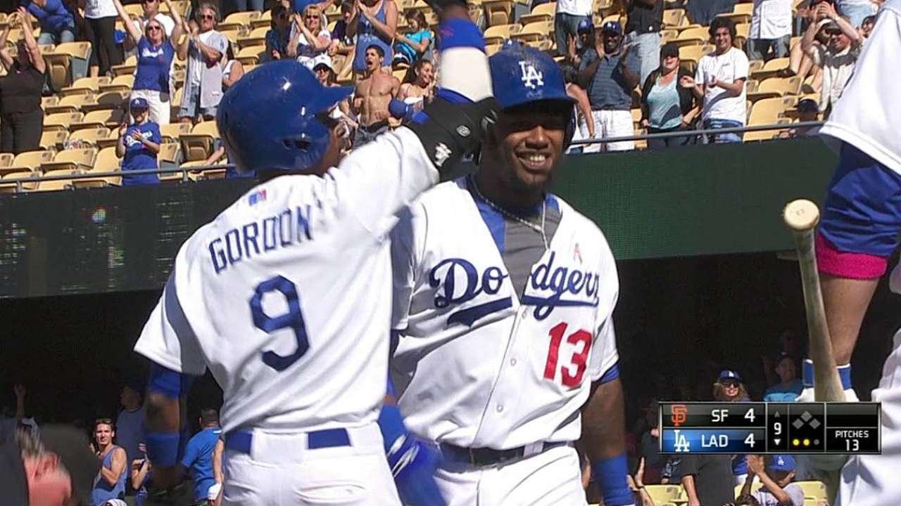 Dodgers sucumbieron contra Gigantes en extrainnings