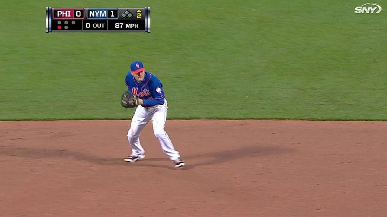 Flores out to prove he can play shortstop