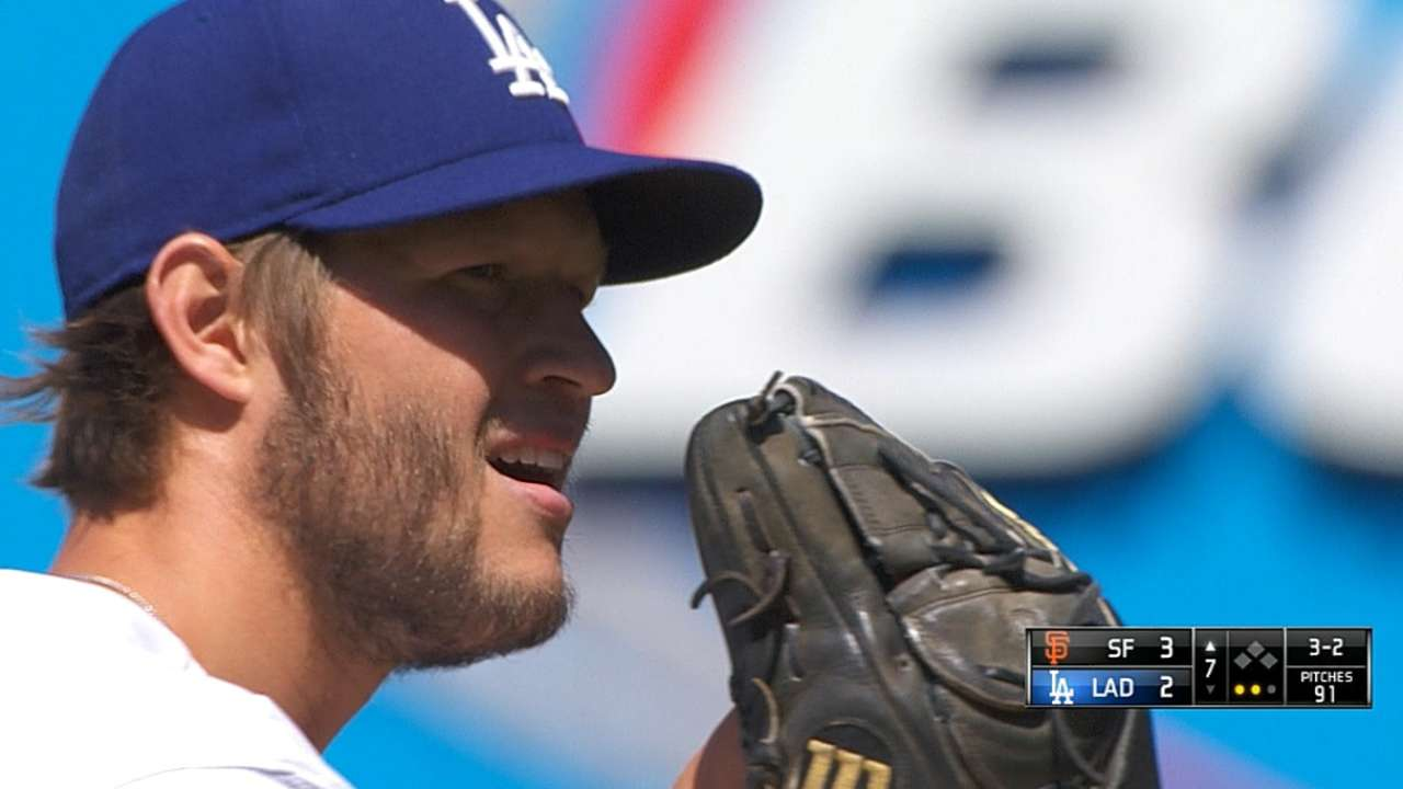 Dodgers aren't panicking about NL West race