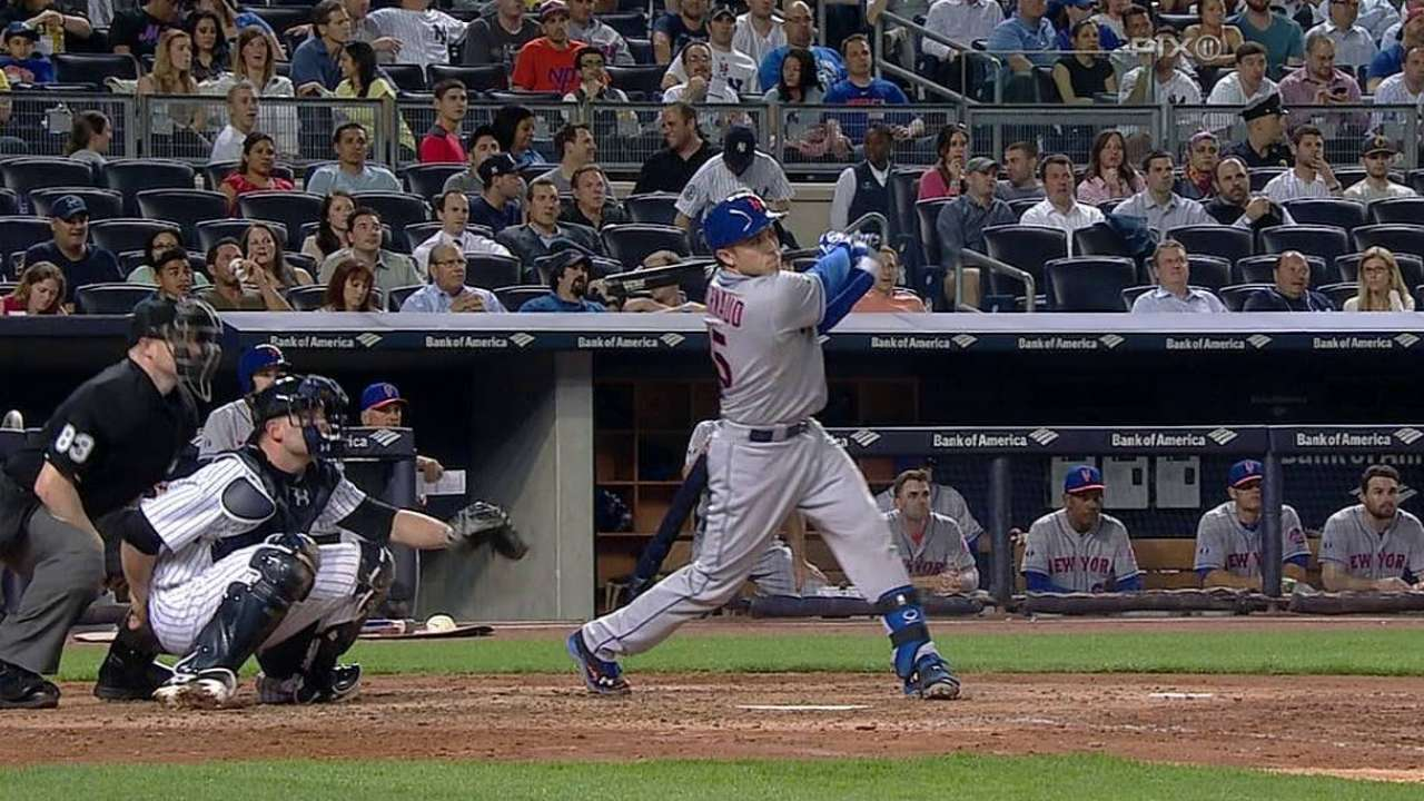 Catcher d'Arnaud tearing it up in Triple-A