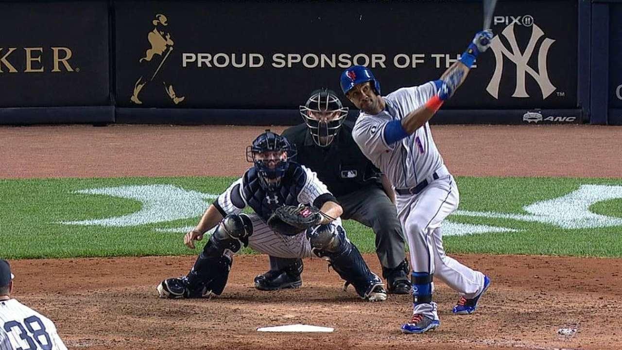 Ofensiva de Mets explota para doblegar a Yankees