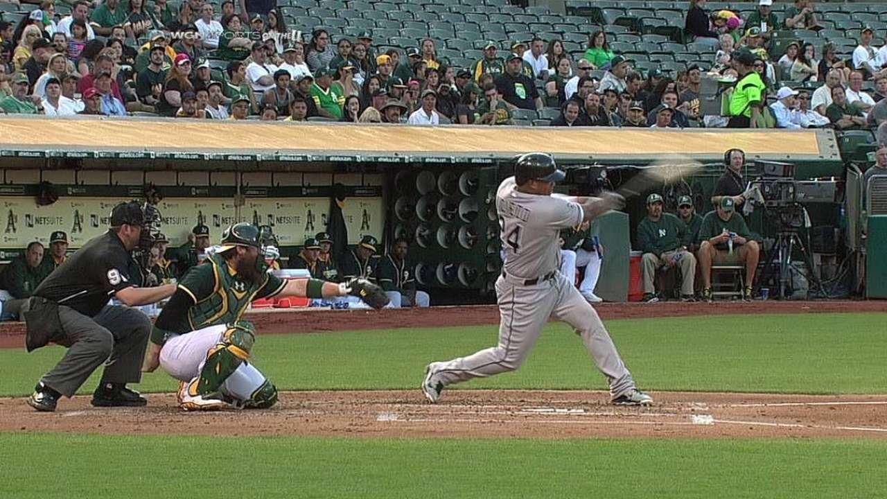 Viciedo jonroneó pero White Sox cayeron en Oakland