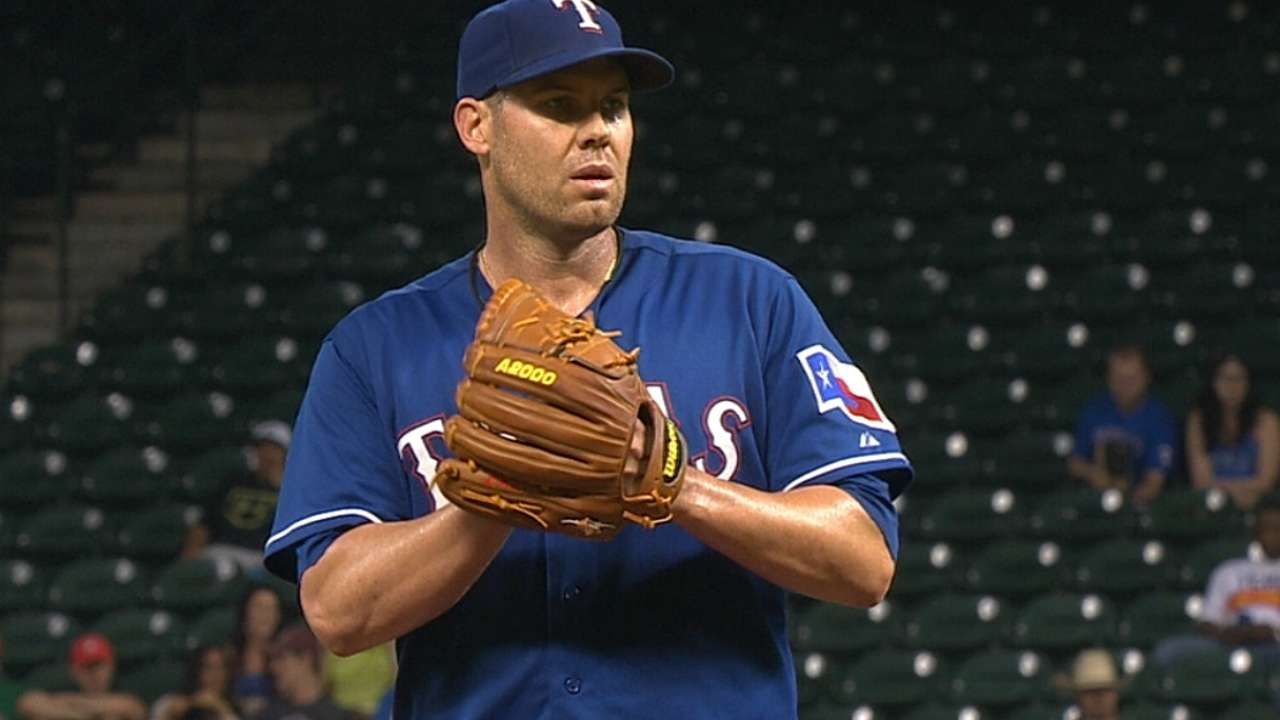 Rangers may miss pair of aces in Tigers series