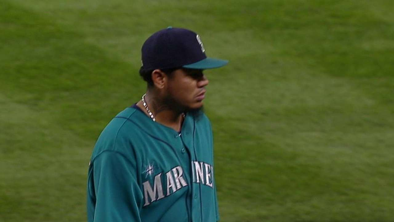 After being pulled, Felix ejected for first time in career