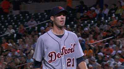 Porcello feels fine day after early exit