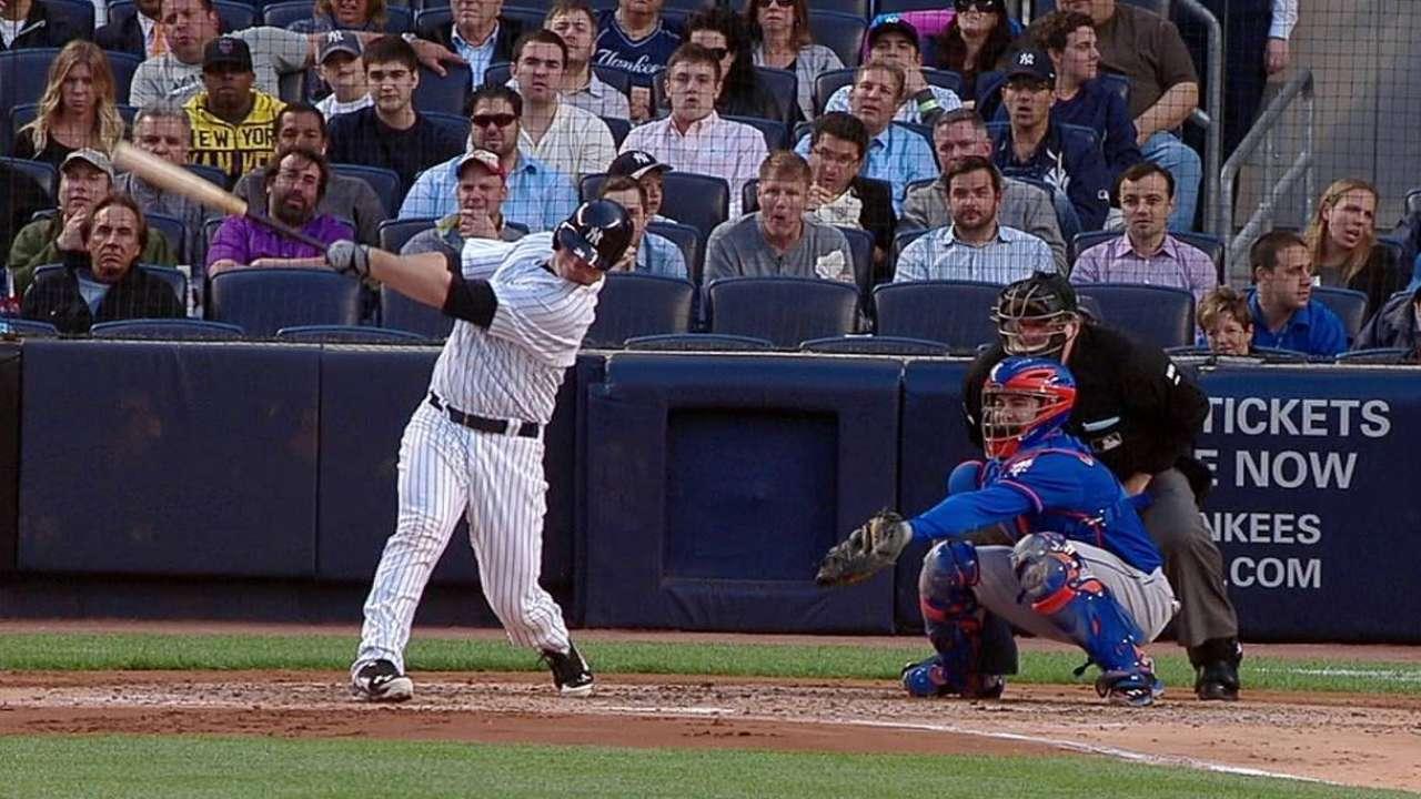 Yankees sufren paliza a manos de los Mets