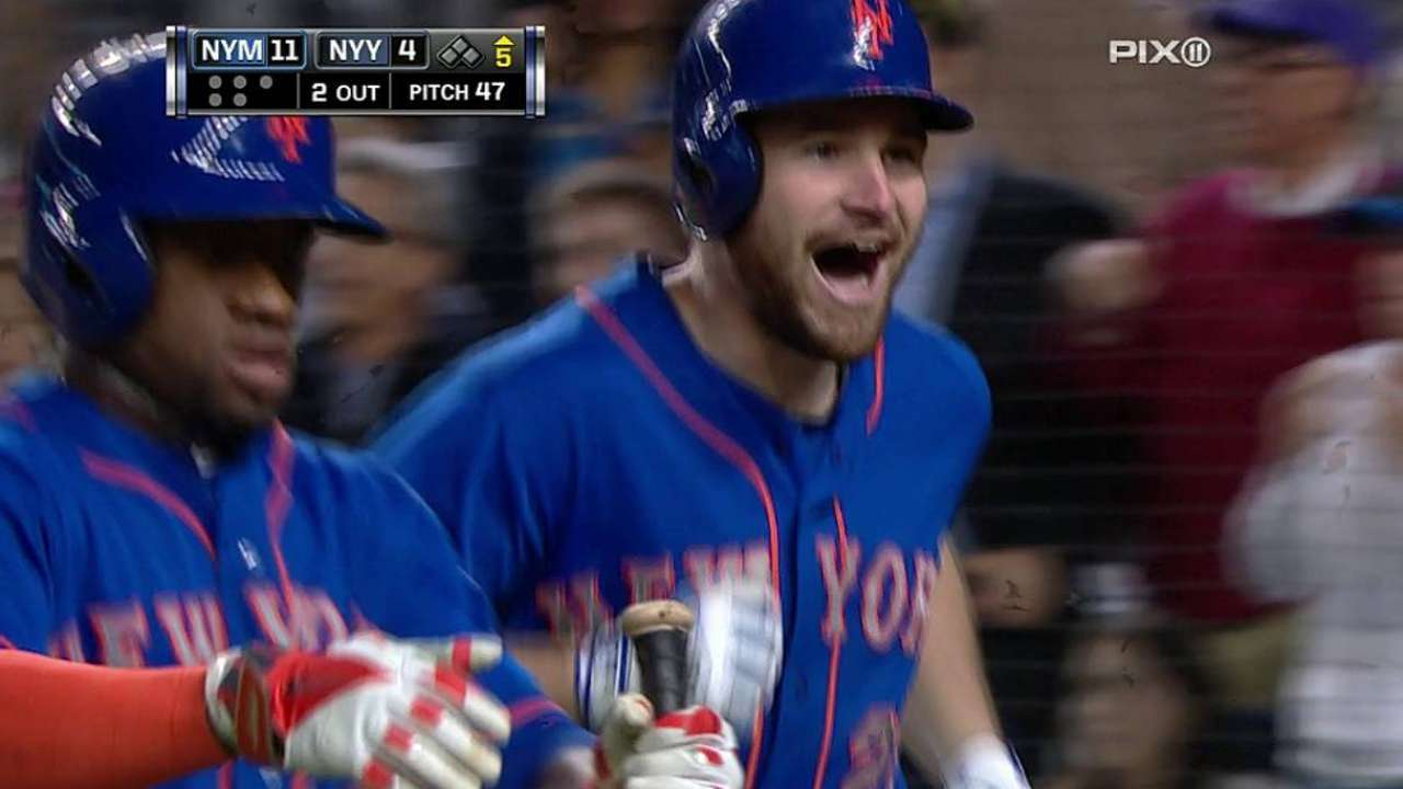 Bates de Mets se dan velo en paliza sobre Yankees