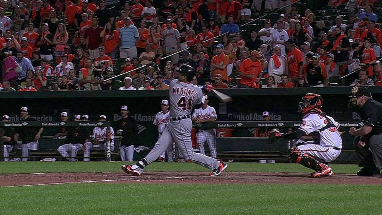 V-Mart makes Tigers history with long homer