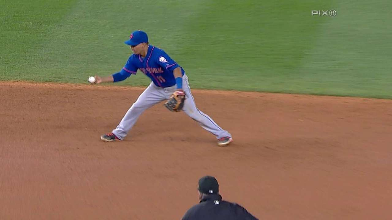 Collins plays hot hand with Tejada at short
