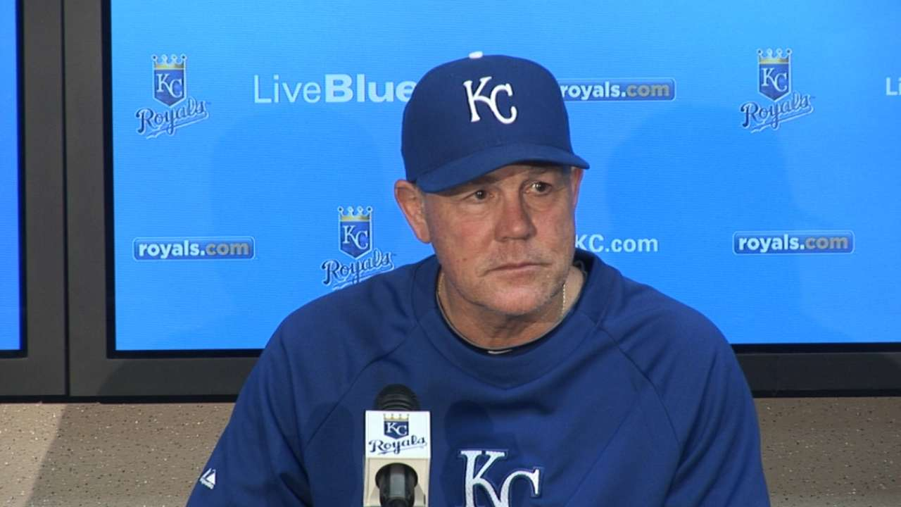 Yost looking for starters to give bullpen relief