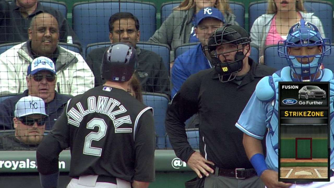 Tulo ejected after arguing called third strike