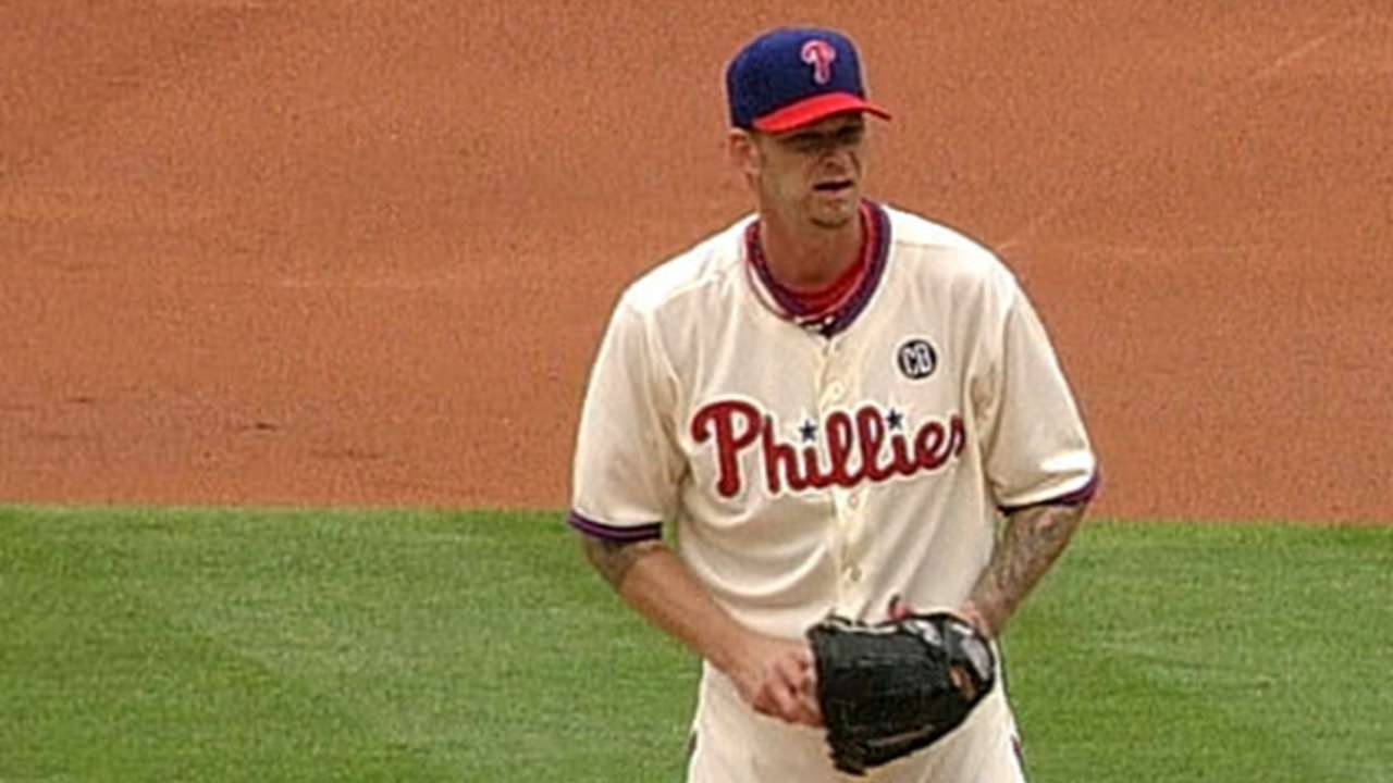 Phillies remain in funk, shut out by Angels