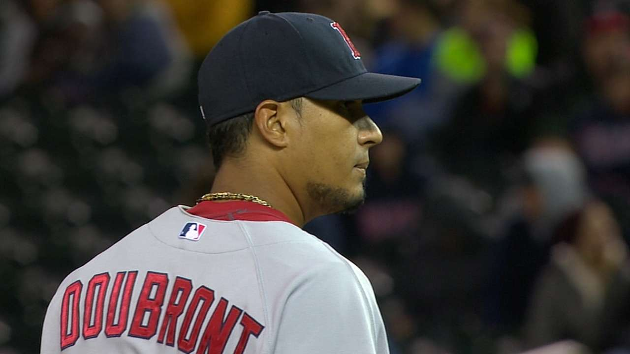Doubront to remain in Red Sox's bullpen
