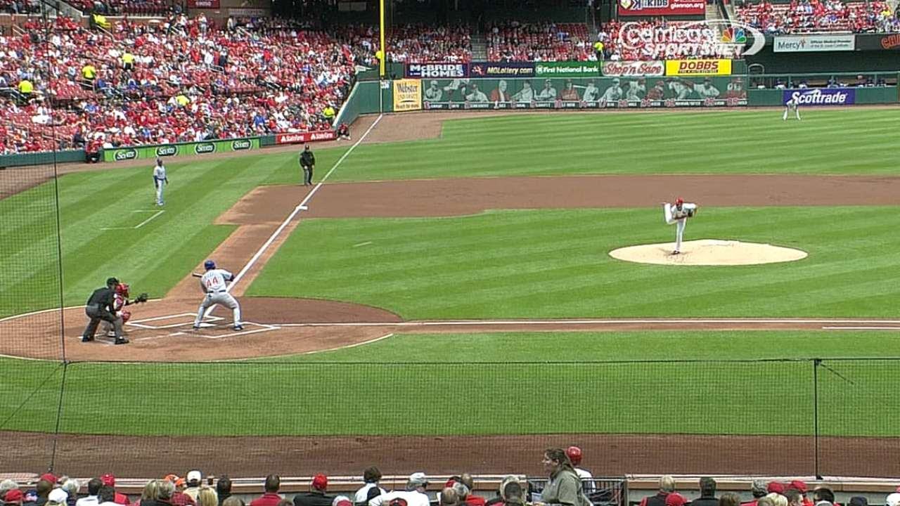 Rizzo using bunts to help beat the shift