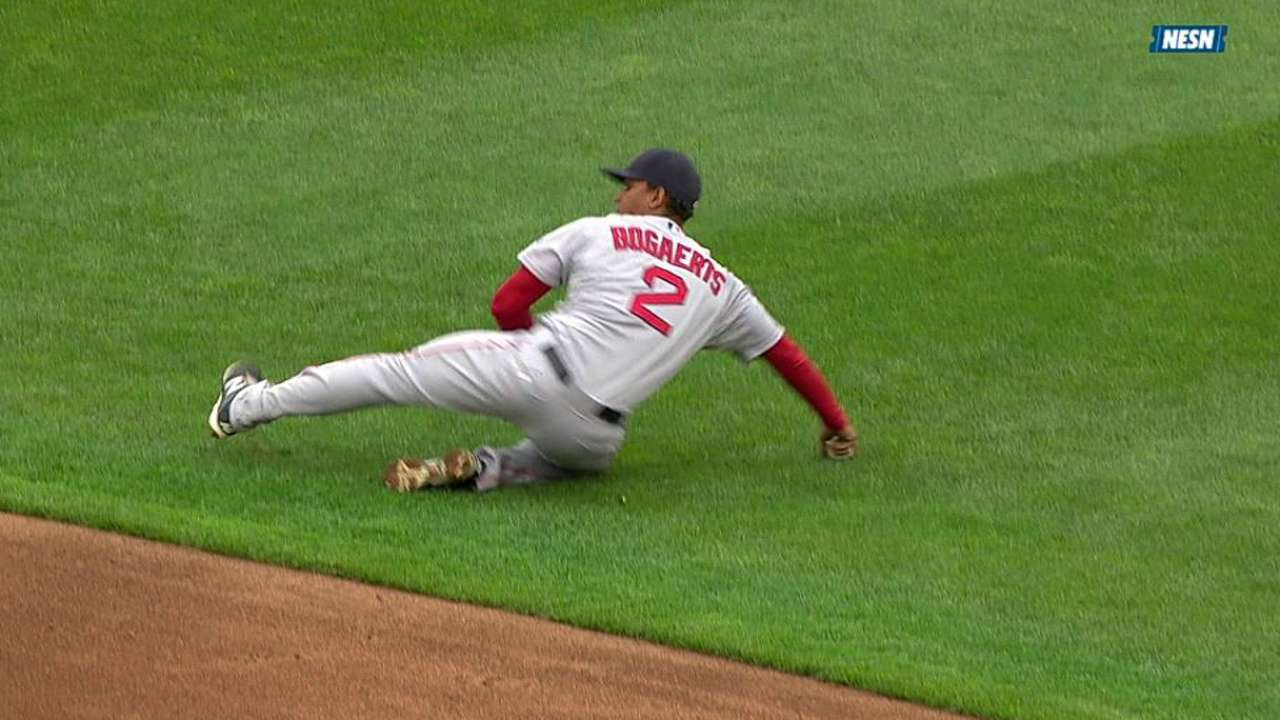 Bogaerts will slide over to third base