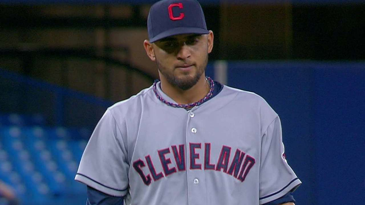 Indians option Salazar to continue development