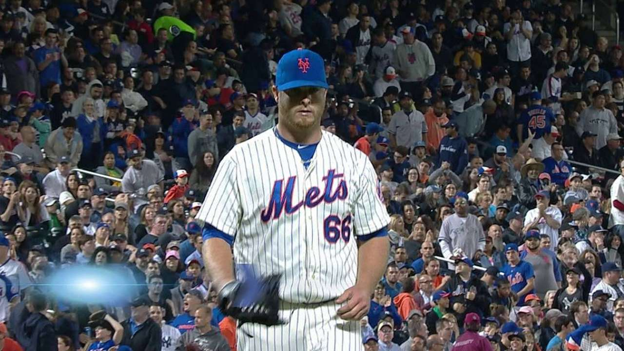 Edgin's promotion gives Mets lefty help in 'pen