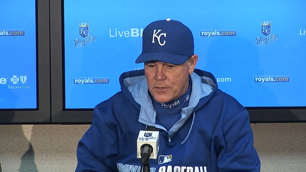 Royals' offense key near one-quarter mark