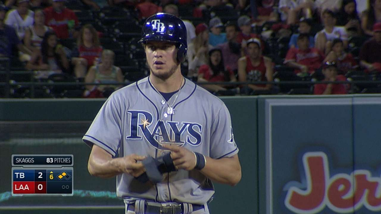 Myers seeing improvements at plate