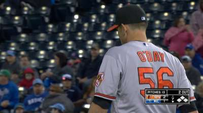 O'Day, Orioles' bullpen ready when called on