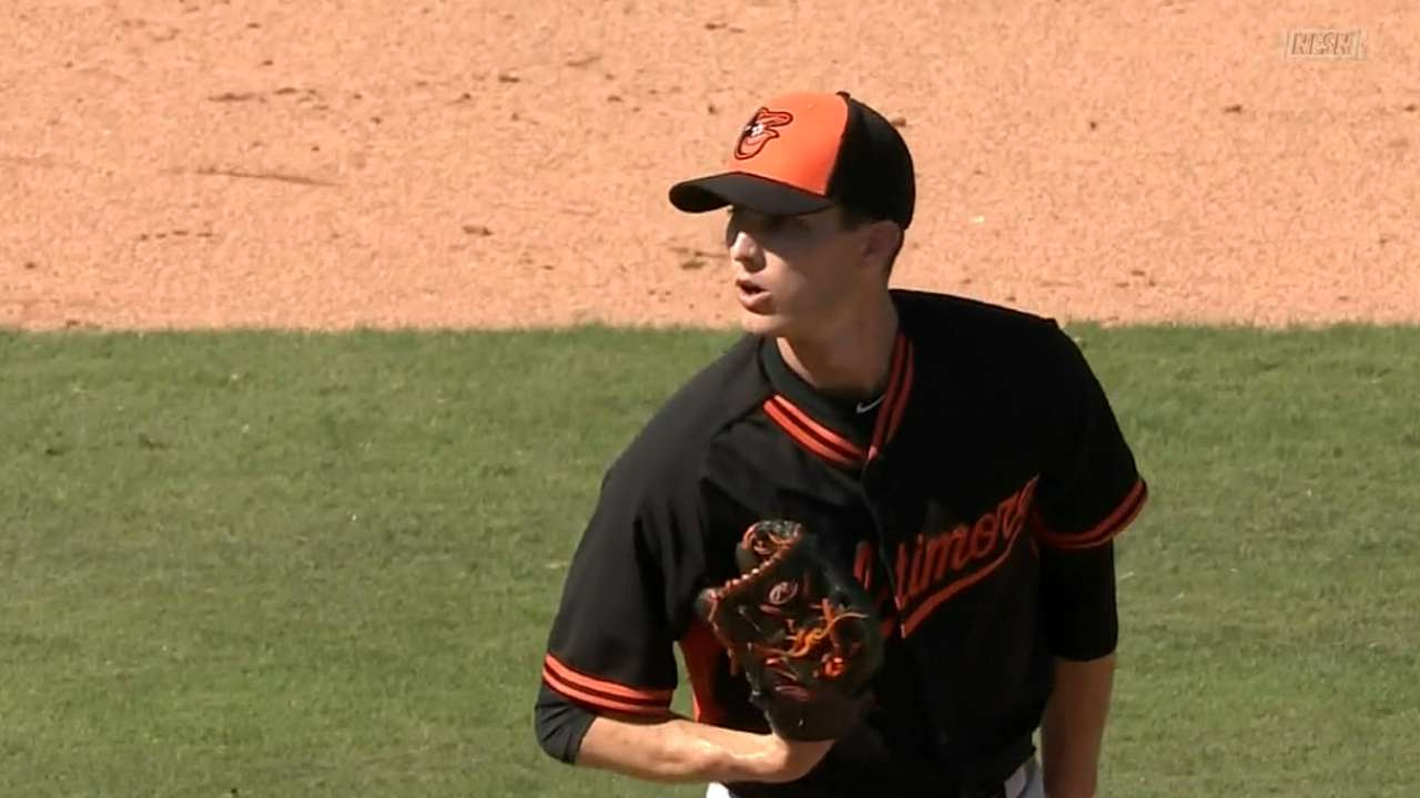 Berry another of Orioles' wave of young arms