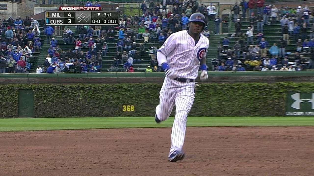 HR de Lake, Barney no fueron suficiente para Cubs